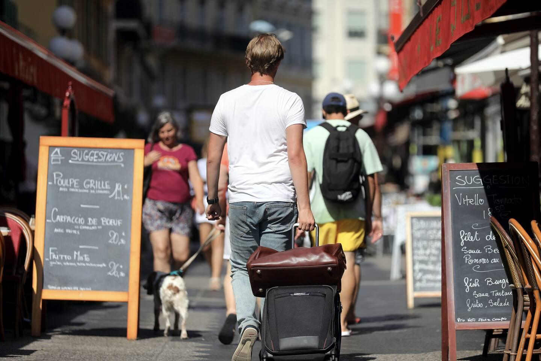 Les touristes sont essentiellement français.