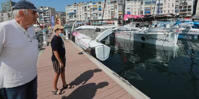 Les trimarans du Pro sailing tour ont débarqué sur le port de Toulon
