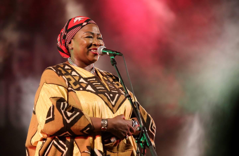 Mah Demba a enchanté le public.