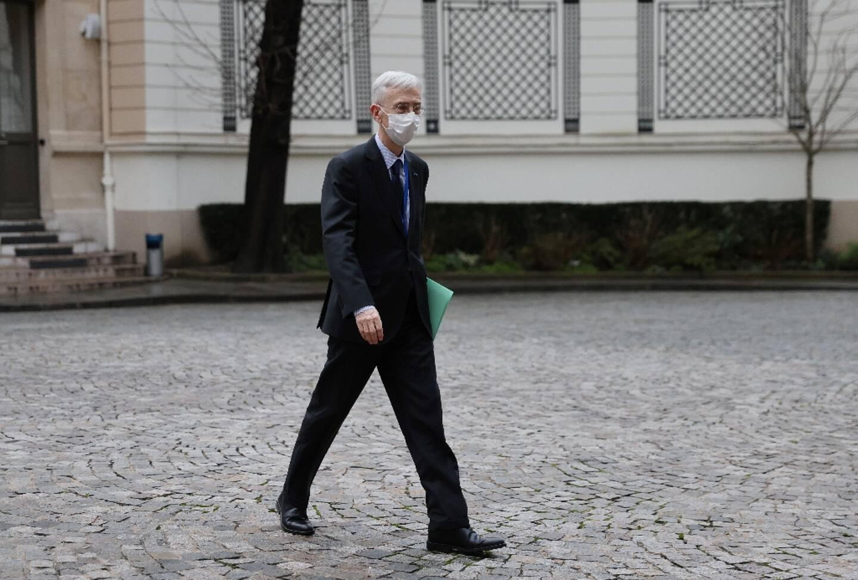 Le préfet de police de Paris, Didier Lallement, au ministère de l'Intérieur à Paris, le 1er février 2021