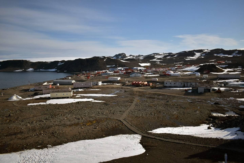 La base chilienne Eduardo Frei, sur l'île du Roi-Jorge