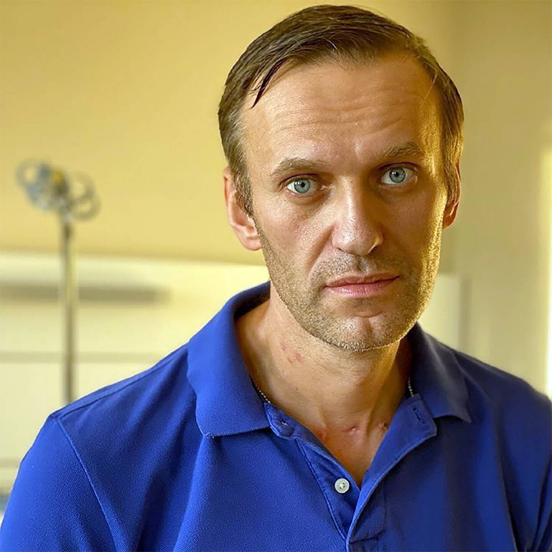Photo du compte Instagram d'Alexeï Navalny à l'hôpital de la Charité de Berlin le 22 septembre 2020