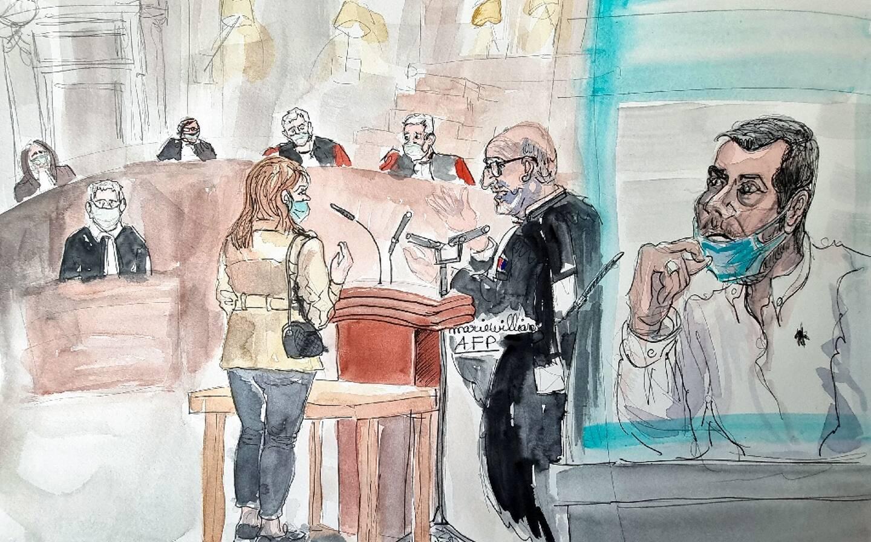 Une ancienne compagne de Nordahl Lelandais témoigne au procès le 4 mai 2021 à Chambéry
