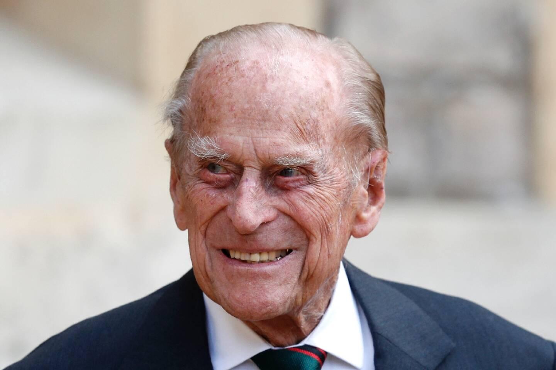 Le prince Philip, le 22 juillet 2020 au chateau de Windsor
