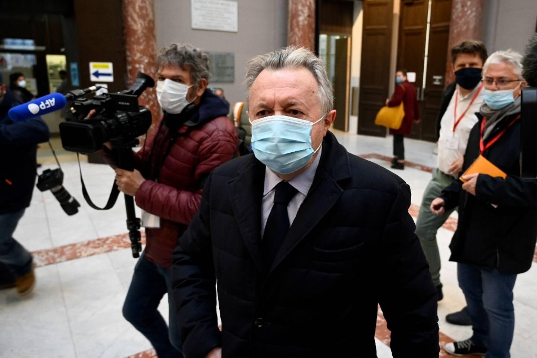 Le sénateur Jean-Noël Guérini arrive au tribunal de Marseille le 15 mars 2021