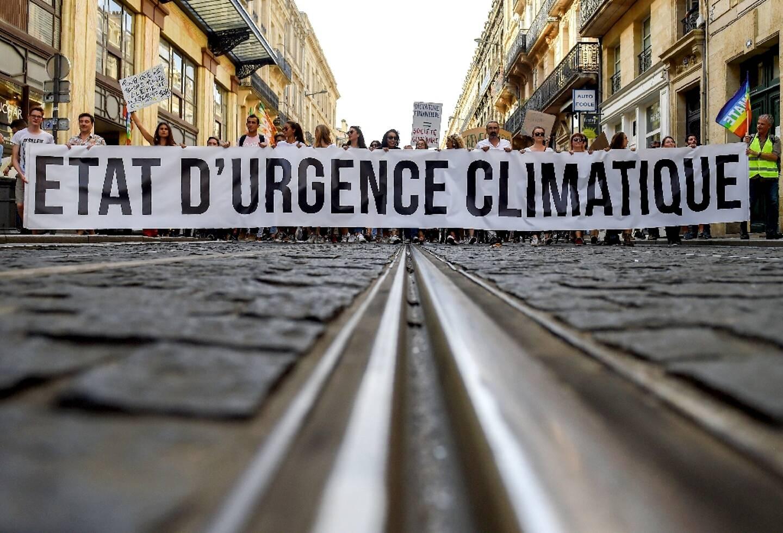 Manifestation en faveur de la défense du climat le 13 octobre 2018 à Bordeaux