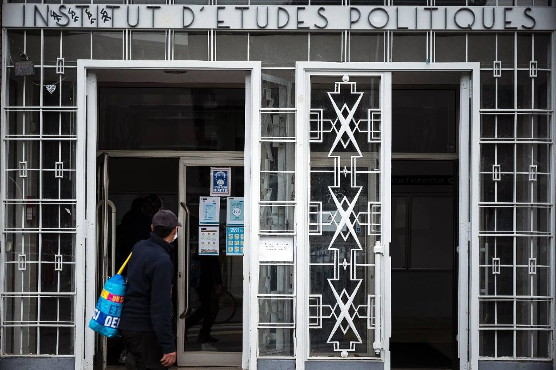 L'institut d'études politiques de Toulouse le 9 février 2021