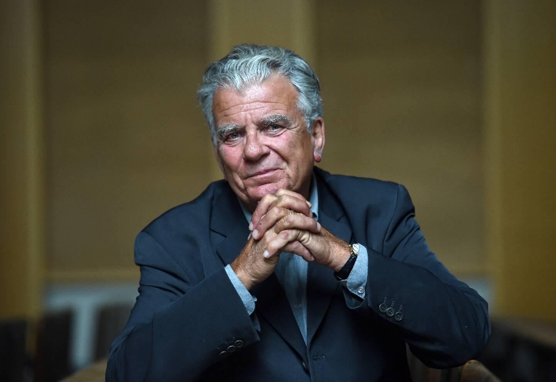 Le politologue Olivier Duhamel, le 19 mai 2016 à Paris