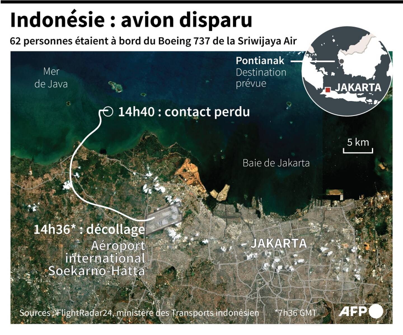 Indonésie : avion disparu