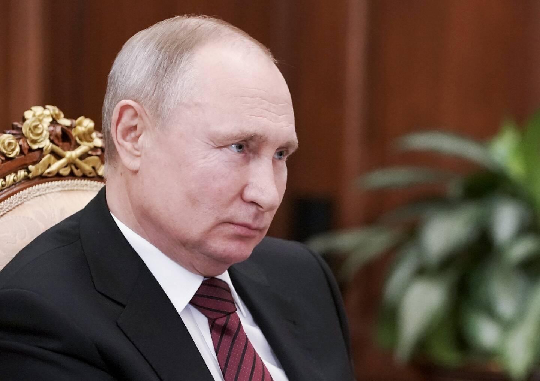 Le président russe Vladimir Poutine le 24 mars 2021