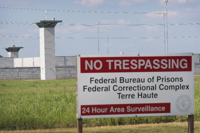 La prison fédérale de Terre Haute, dans l'Indiana, le 25 juillet 2019