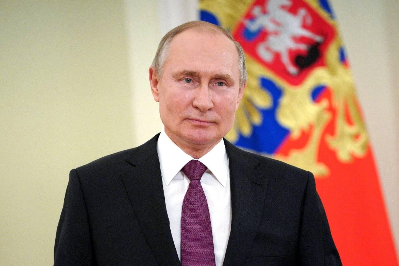 Vladimir Poutine, le 27 mars 2021 à Moscou