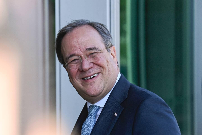 Armin Laschet, candidat à la présidence de la CDU, à Berlin, le 28 septembre 2020