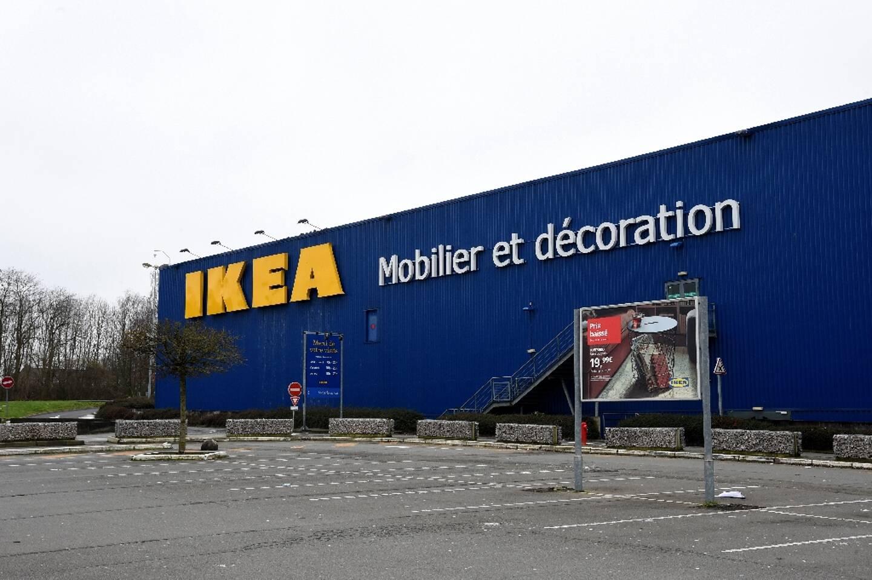 Un magasin Ikea à Lomme, dans le Nord, le 31 janvier 2021