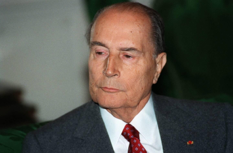 Le président François Mitterrand, le 9 novembre 1993 à Paris
