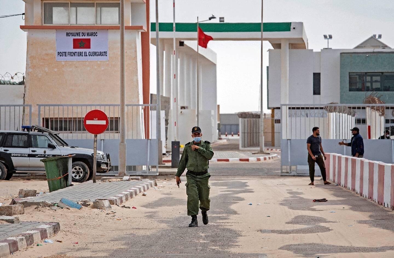 Le poste-frontière de Guerguerat, sous contrôle marocain