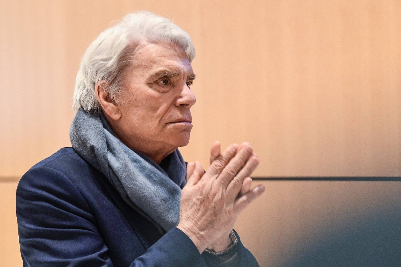 L'homme d'affaires Bernard Tapie le 4 avril 2019 à Paris