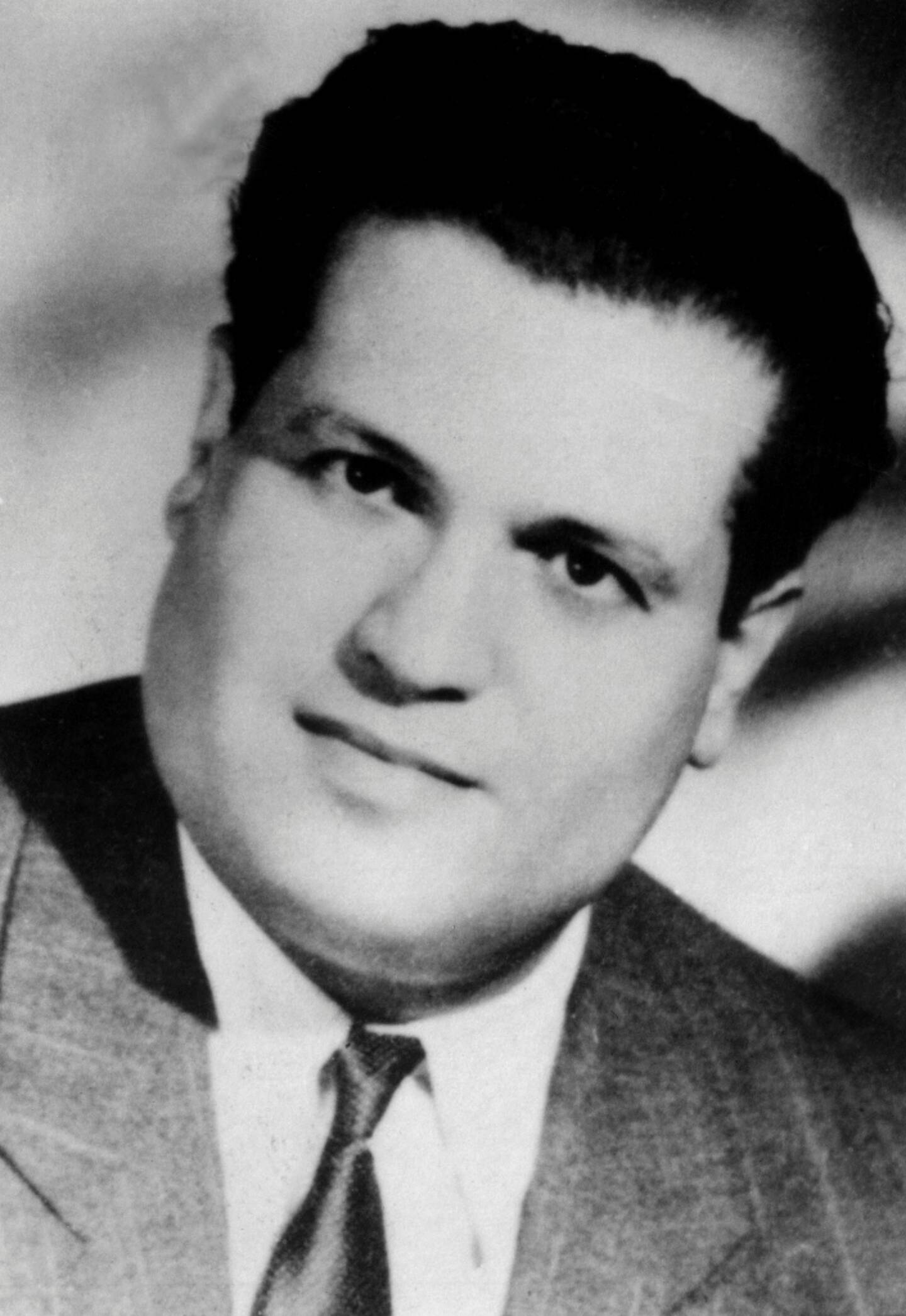 Photo non datée de l'avocat algérien Ali Boumendjel, alors âgé de 32 ans, assassiné en mars 1957 alors qu'il avait été arrêté quarante-trois jours plus tôt par l'armée française