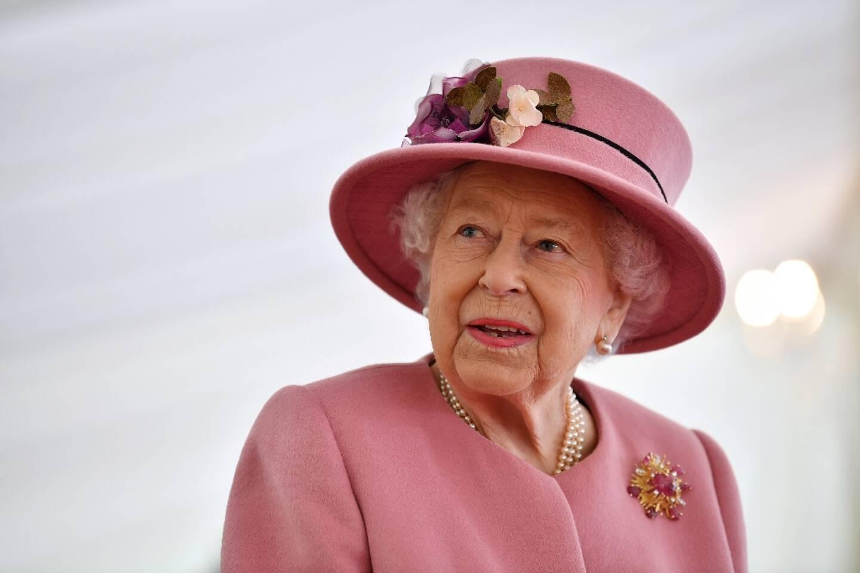 La reine Elizabeth II, le 15 octobre 2021 à Salisbury, au Royaume-Uni