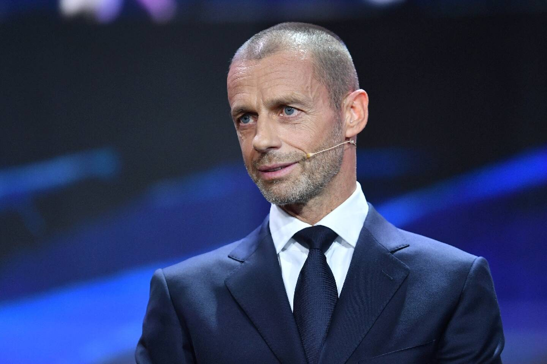 Le présidet de l'UEFA Aleksander Ceferin, le 1er octobre  2020 à Genève