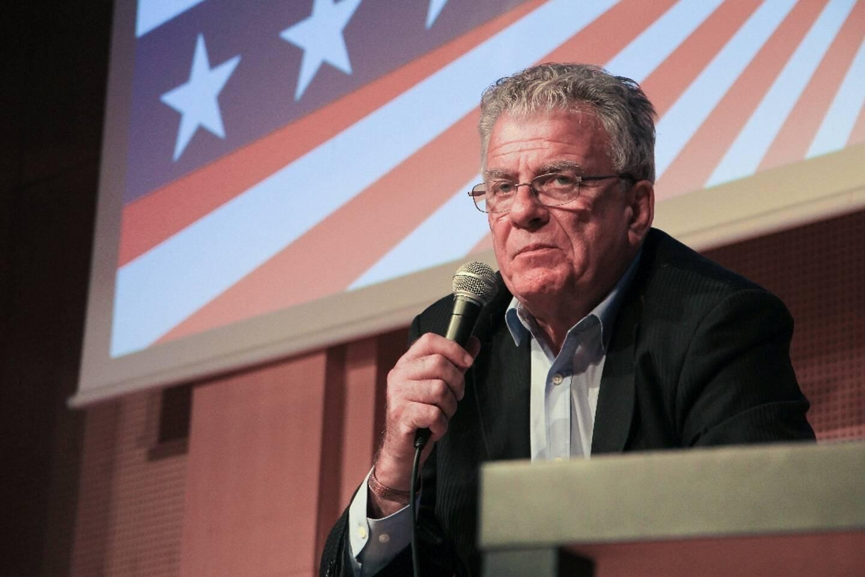 Le politologue Olivier Duhamel le 9 novembre 2016 à Paris