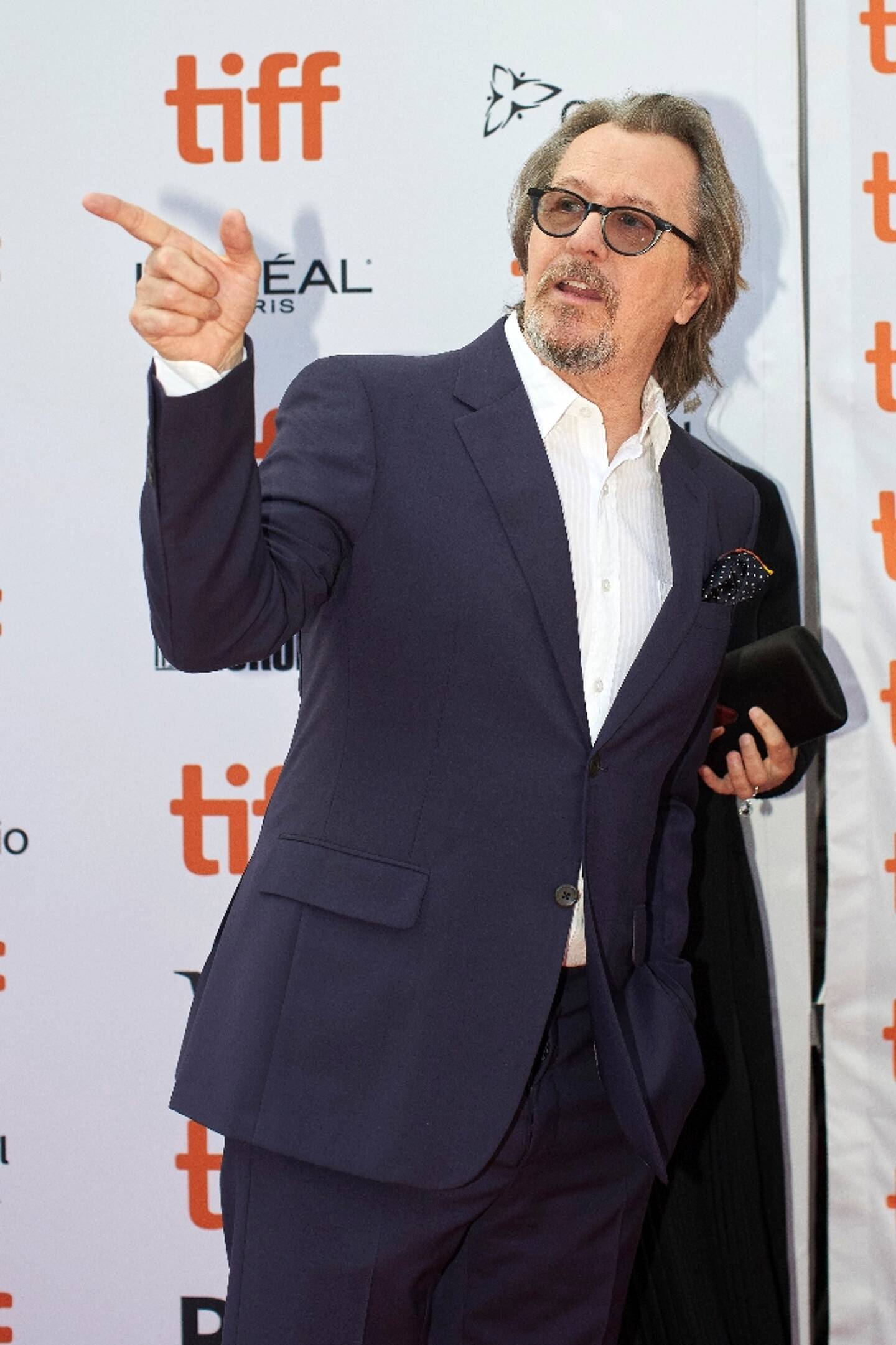 """Gary Oldman, le 9 septembre 2019 à Toronto pourrait recevoir un Golden Globe pour sa performance dans """"Mank"""""""