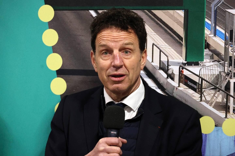 Le président du Medef, Geoffroy Roux de Bezieux, à Paris, le 12 janvier 2021