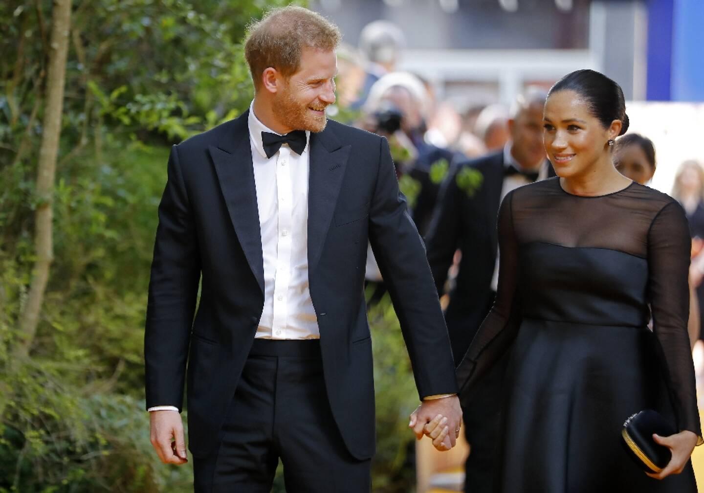 Le prince Harry et son épouse Meghan en juillet  2019 à Londres