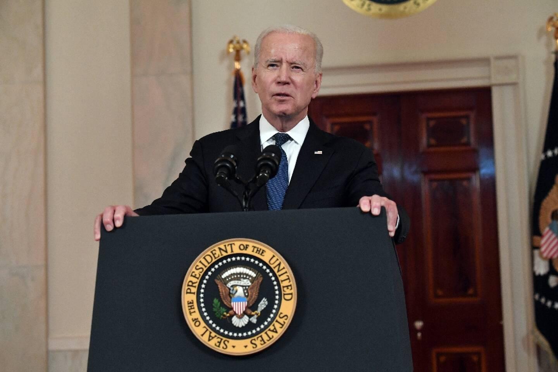 Le président américain Joe Biden, le 20 mai 2021 à la Maison Blanche, à Washington
