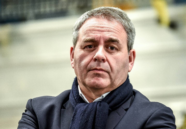 Le président des Hauts-de-France Xavier Bertrand le 19 février 2019 à Valenciennes