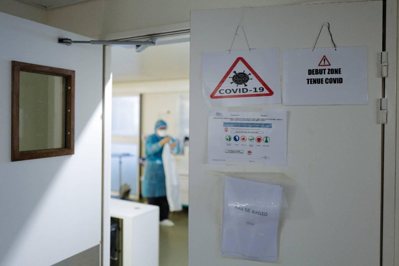 A l'hôpital Pasteur de Nice, le 25 février 2021