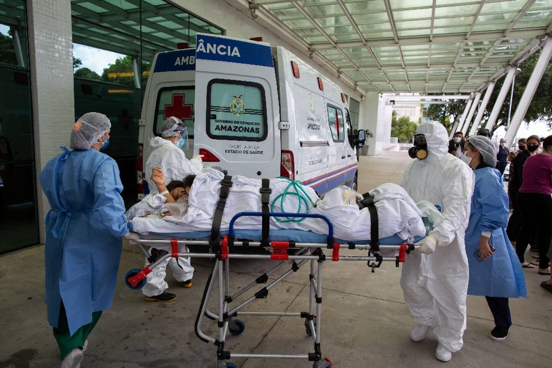 Les hôpitaux de Manaus, dans le nord du Brésil, sont débordés par l'afflux de malades
