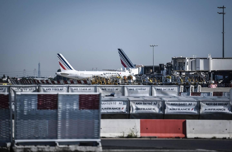 Des avions Air France sur le tarmac de l'aéroport d'Orly, le 24 juin 2020