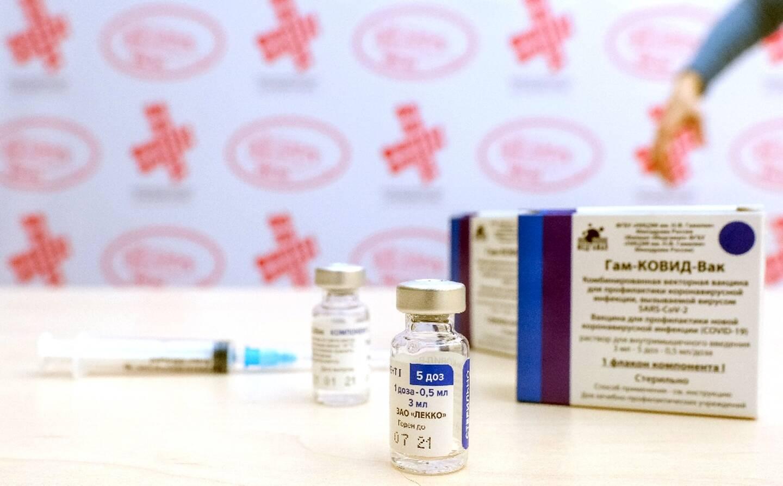 Des lots de vaccins Spoutnik prêts à être utilisés dans un centre de vaccination à Banja Luka (Hongrie), le 12 février 2021