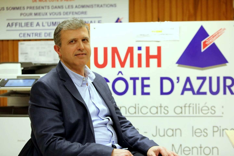 Noël Ajoury, président Côte d'Azur de l'Union des métiers et des industries de l'hôtellerie-restauration