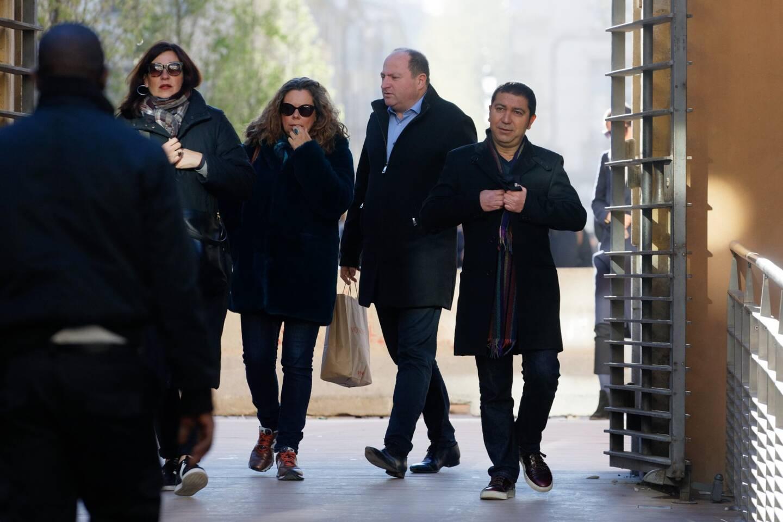 Fabrice Alcaud (au centre), le 18 février 2019.