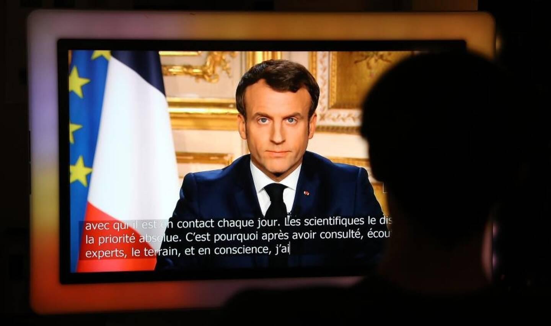 Emmanuel Macron prononce à 20 heures ce mercredi une allocution depuis l'Elysée.