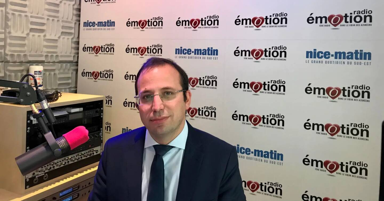 Le premier adjoint au maire de Nice, Anthony Borré.