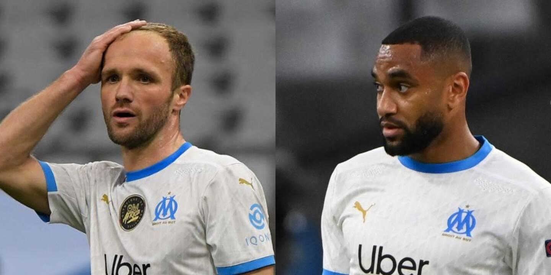 Les ex-Niçois, Jordan Amavi et Valère Germain, tous deux en fin de contrat, mis sur la touche à l'Olympique de Marseille.
