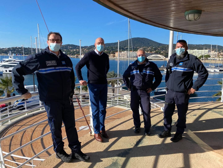 La police portuaire sera présente à la capitainerie tous les mardis.