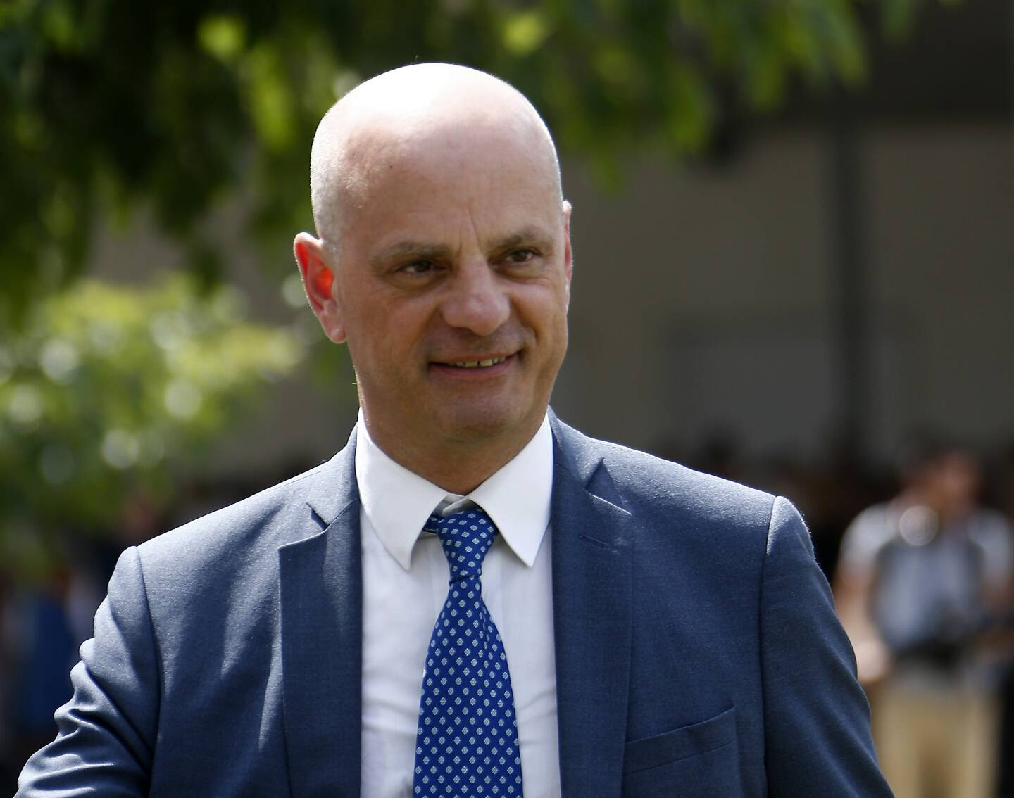 Jean-Michel Blanquer, ministre de l'Education nationale, de la Jeunesse et des Sports, dans le Var en août 2019 (illustration).