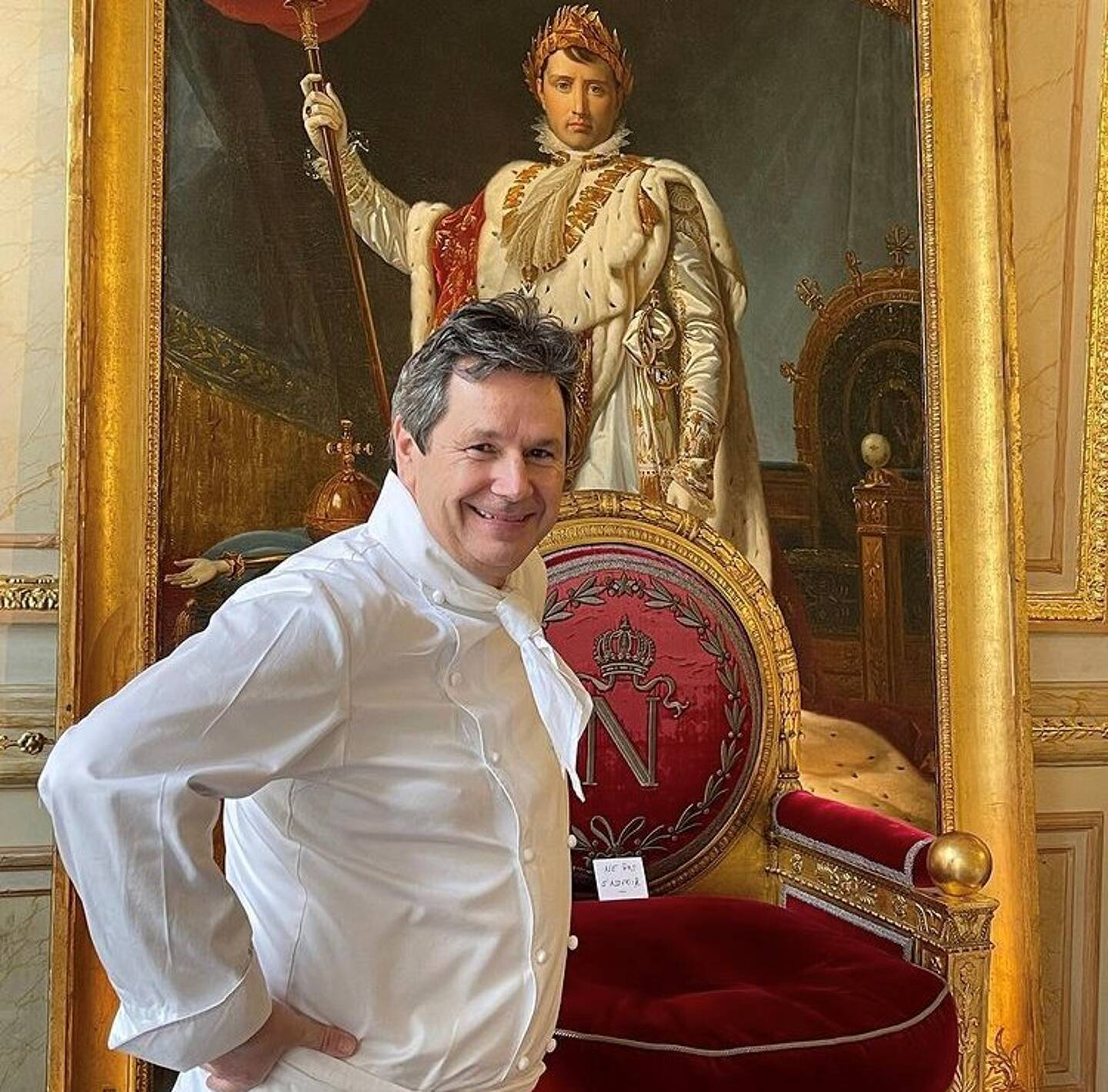 Le chef Christophe Leroy
