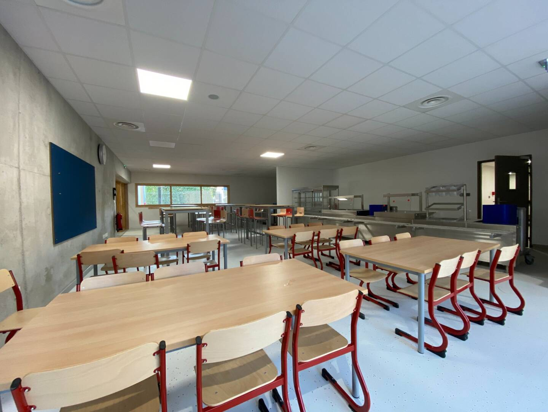 Le réfectoire pour les élèves scolarisés en élémentaire.