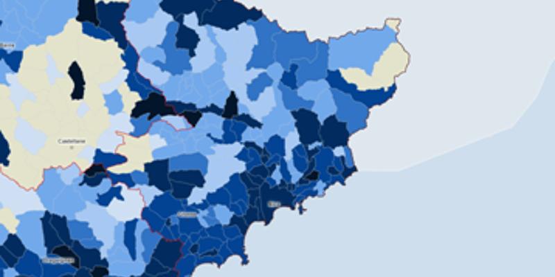 Covid-19: la carte de l'épidémie dans les Alpes-Maritimes, commune par commune - Nice-Matin