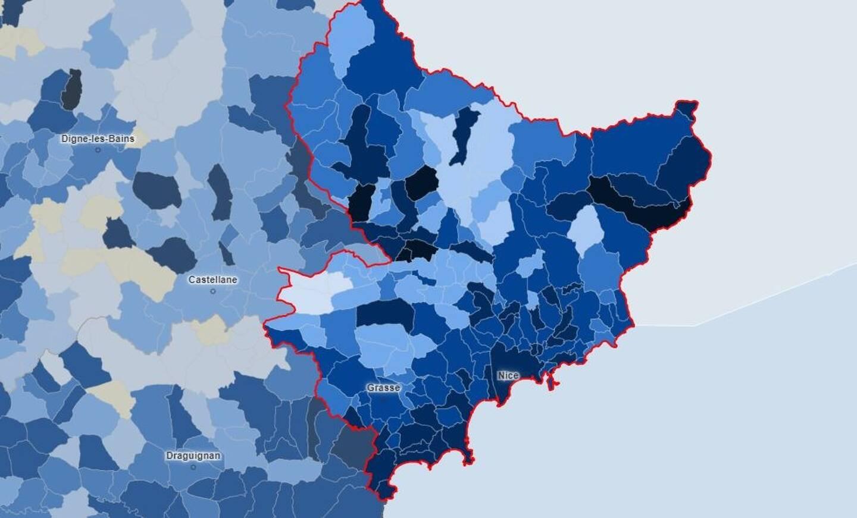 On fait le point sur la circulation du virus dans les Alpes-Maritimes, alors que le taux d'incidence bat désormais des records.