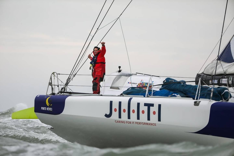 Le skipper toulonnais Clément Giraud.