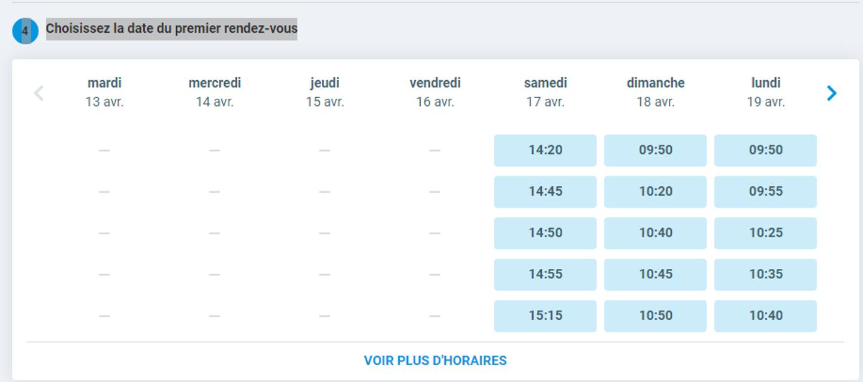 Trouver des créneaux de vaccination grâce à Vitemadose.fr