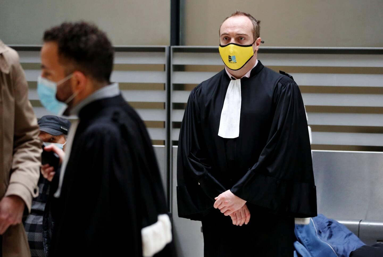 Me Corentin Delobel, avocat de Giuseppe Serena, l'organisateur présumé du rapt de Jacqueline Veyrac.