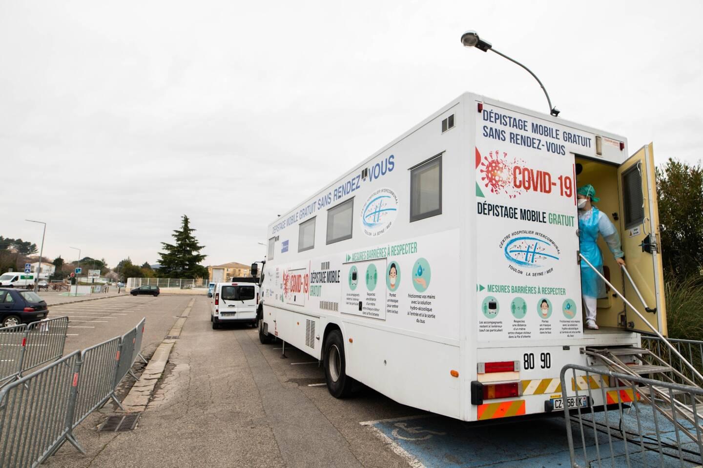 Un dispositif de dépistage mobile à Draguignan.