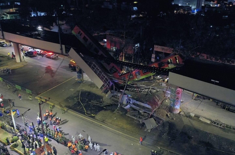 Une image aérienne de la catastrophe.